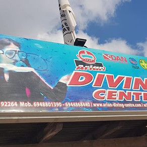 Scuba diving for the first time