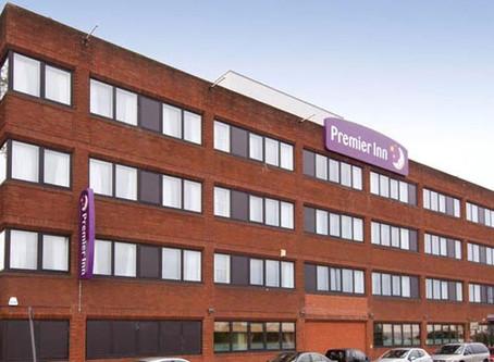 Staying At The Premier Inn In Hanger Lane