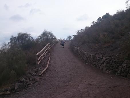 Climbing Vesuvius