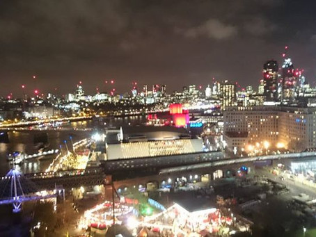 A Night And Day Visit To The London Eye