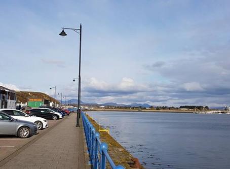 The little town of Pwllheli
