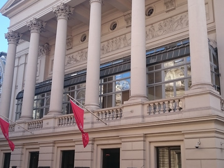 A Night At The Royal Opera House Watching The Ballet