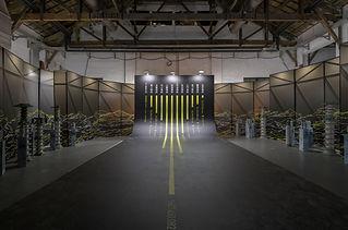 曲面入口,水力發電廠發電數據圖。照片來源:衍序規劃設計.jpg