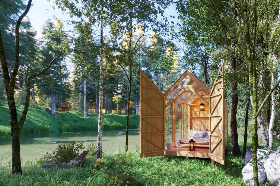 Forrest cabin