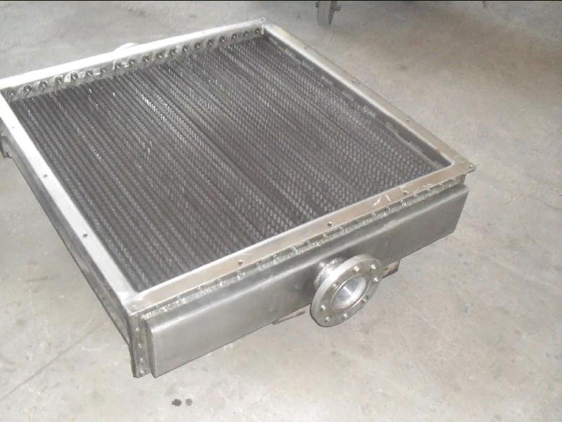 Воздушный маслоохладитель из алюминиевого сплава для гидросистем металлургических комплексов. Пропус
