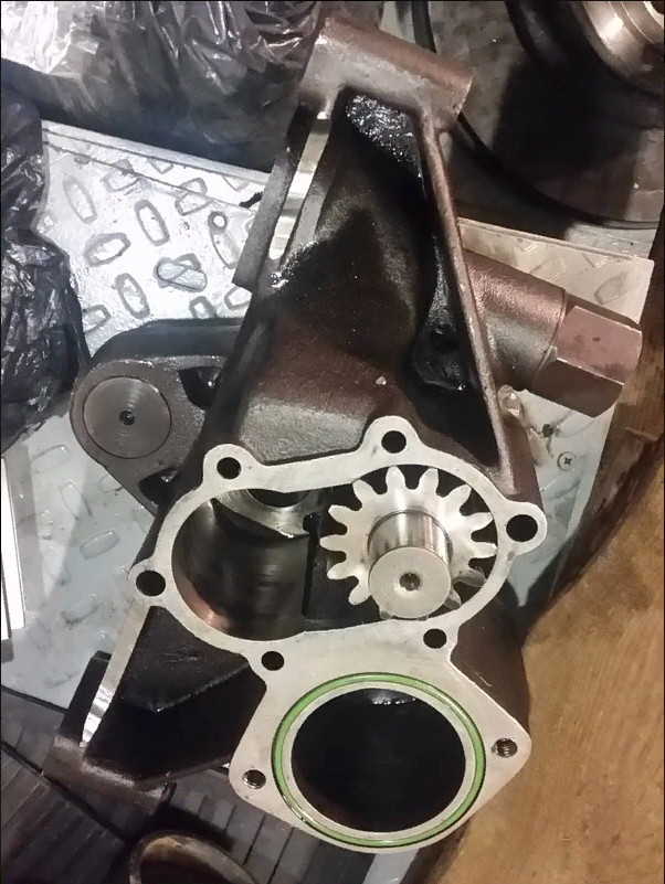 Капитальный ремонт шестеренчато-плунжерного насоса высокого давления ( 380 Бар ) необеспеченного док