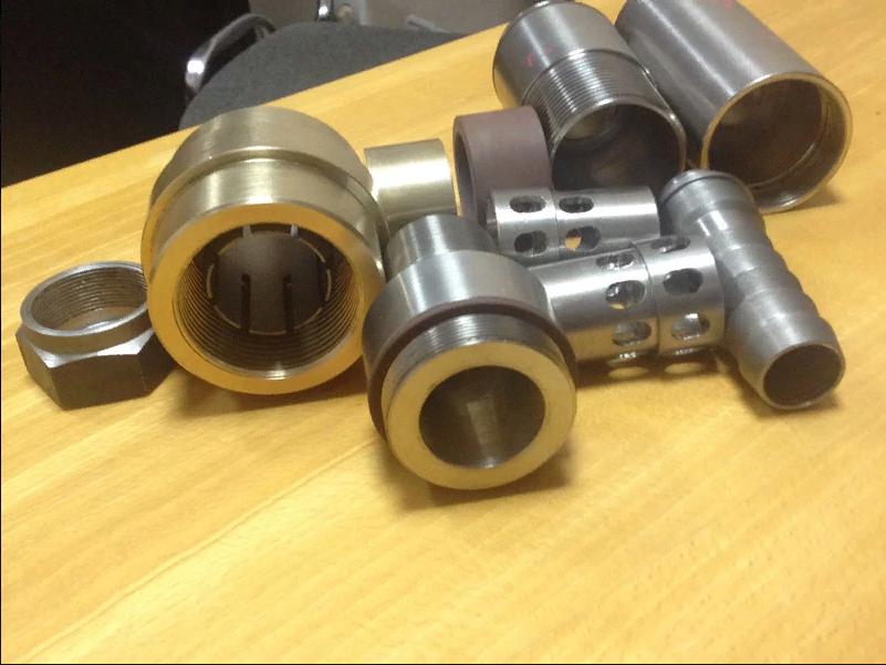 Изготовление искрогасителей, состоящих из десяти деталей. Для металлургического производства.
