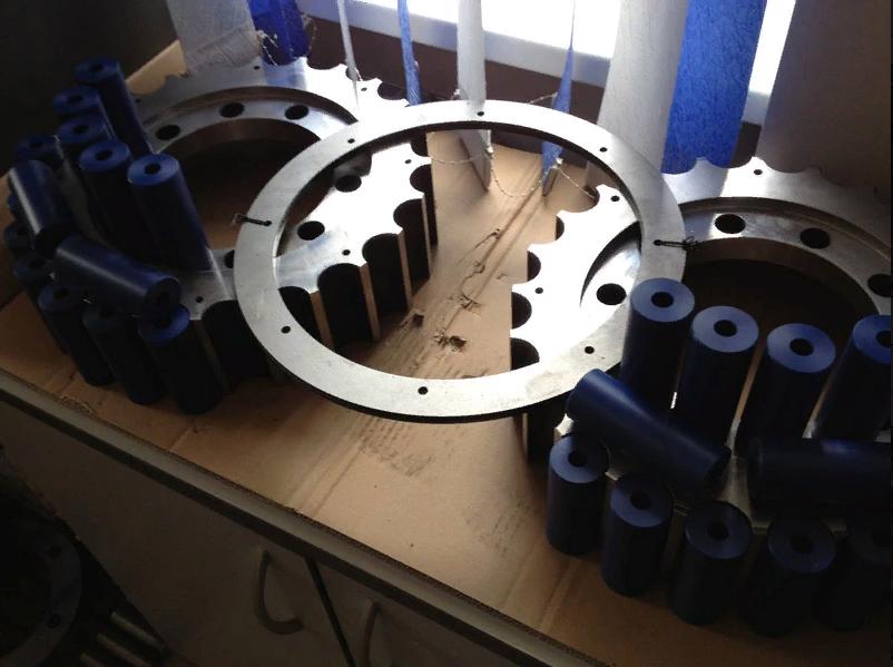 Модернизация муфты по импортозамещению, изготовление пальцев.