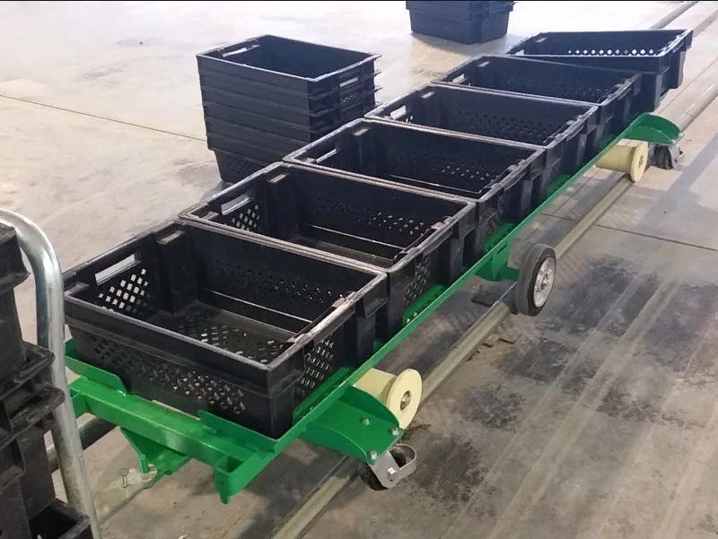 Тележка для перевозки овощей.  Полное изготовление.