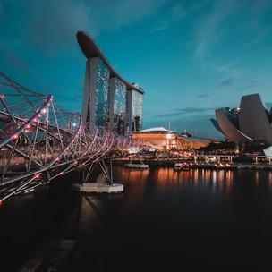 Singapore Helix Bridge 1