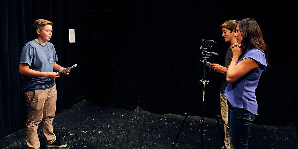 Virtual - Acting for the Camera-TUES (Ages 11-15)
