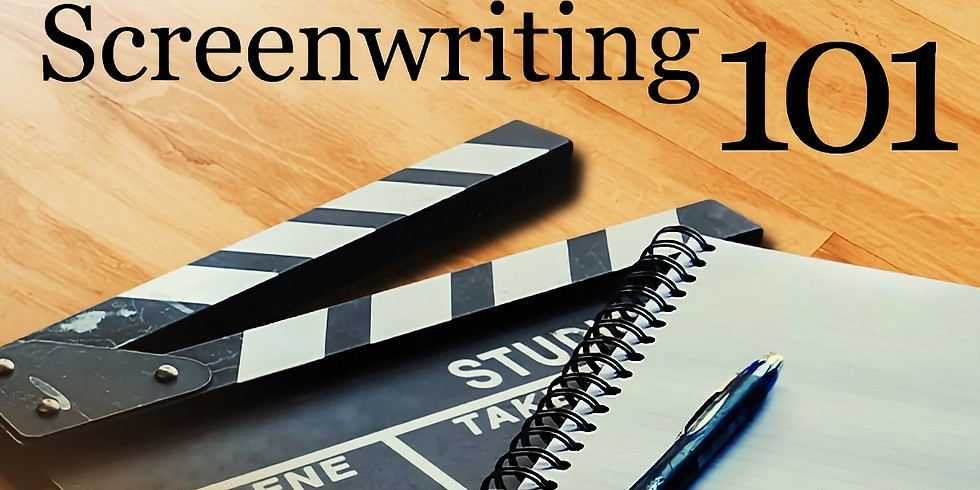 Virtual - Screenwriting 101 Workshop (Ages 8 - 18)