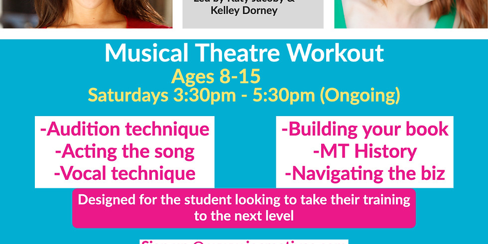 Virtual - Musical Theatre Workout - (Ages 8-15) Ongoing