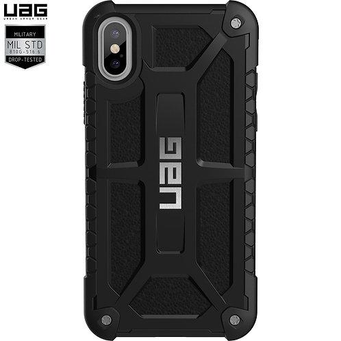 UAG iPhone X Monarch Case Graphite Black