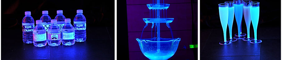 Glow in the dark Party drinks