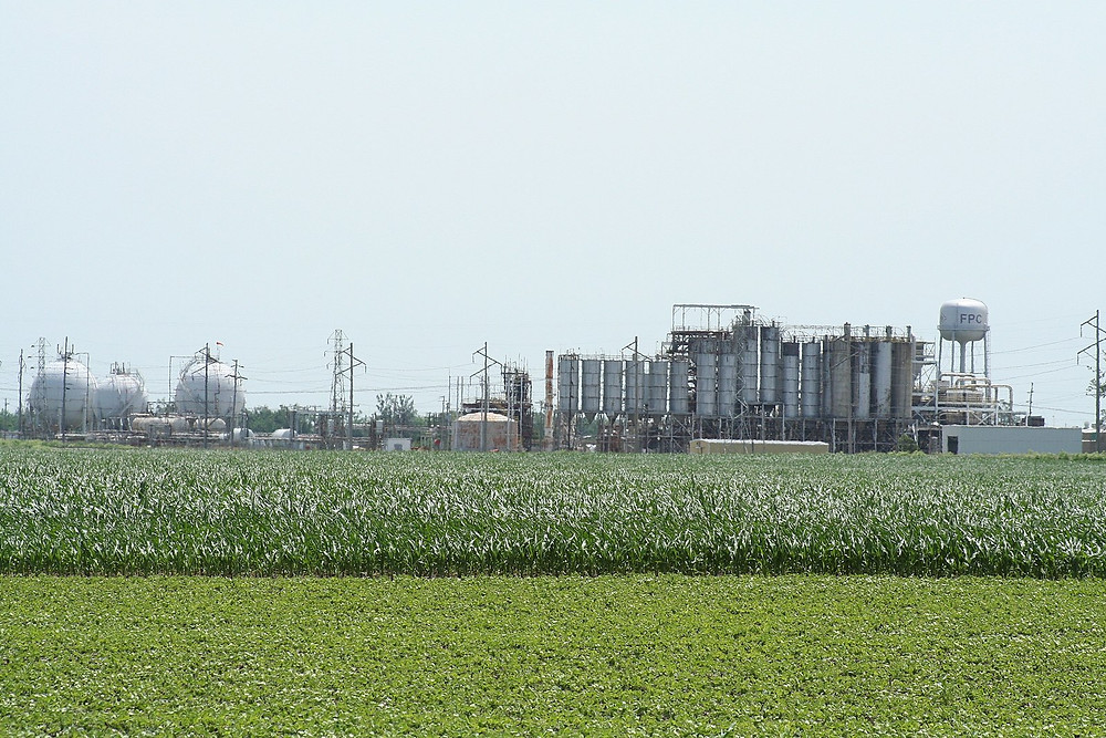Formosa Plastics Plant in Illinois. Credit: Dual Freq, Wikimedia Commons