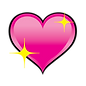 Pink Heart with sparkle.png