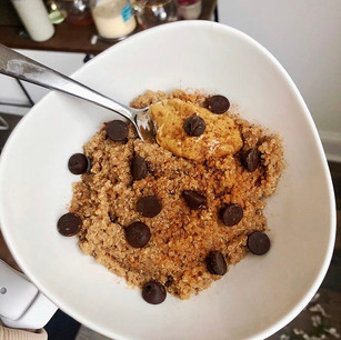 Chocolate Peanut Butter Quinoa Bowl