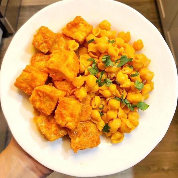 Crispy Buffalo Tofu