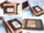 Leder Geldclip & Cardholder Swiss / my-cases.ch