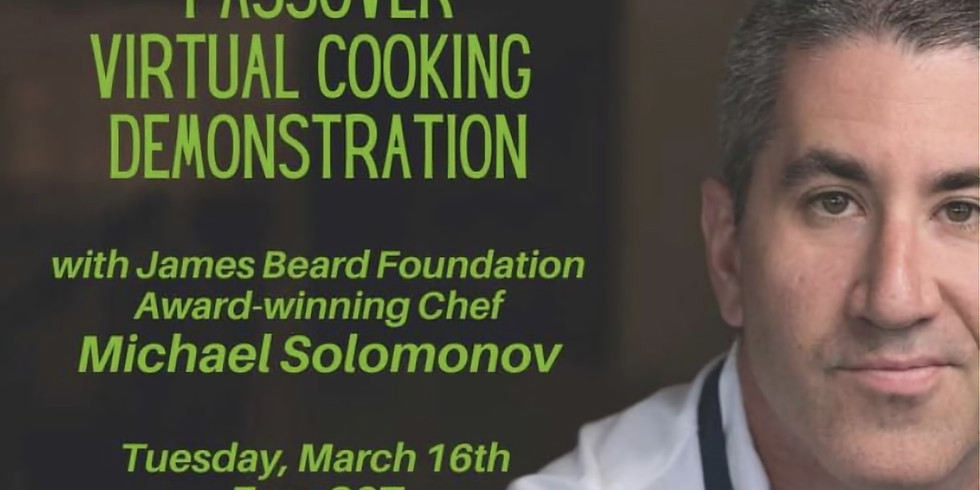 Passover Cooking with Chef Michael Solomonov