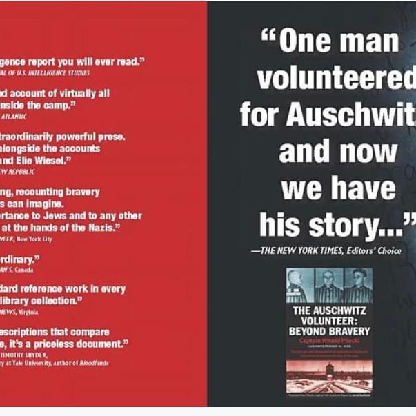 Screening of The Auschwitz Volunteer: Beyond Bravery with direct Marek Probosz