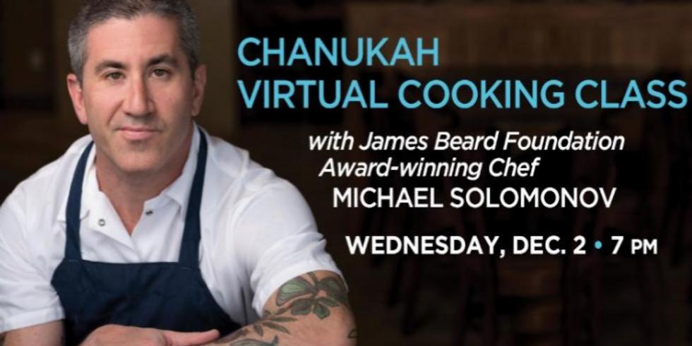Chanukah Virtual Cooking Class