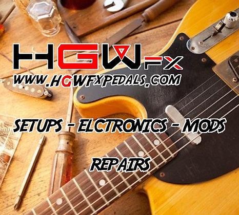 Guitar Electronics Repair