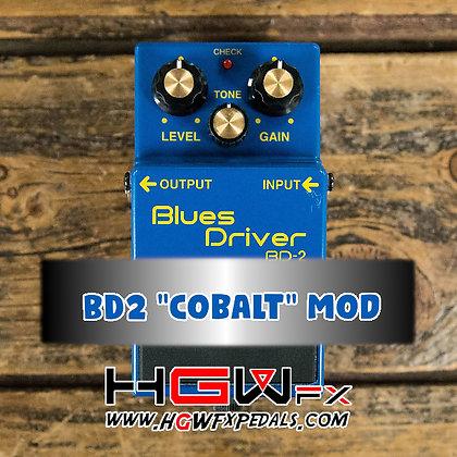 """Boss BD2 """"Cobalt"""" Mod"""