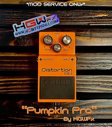 """Boss DS1 """"Pumpkin Pro"""" Mod"""