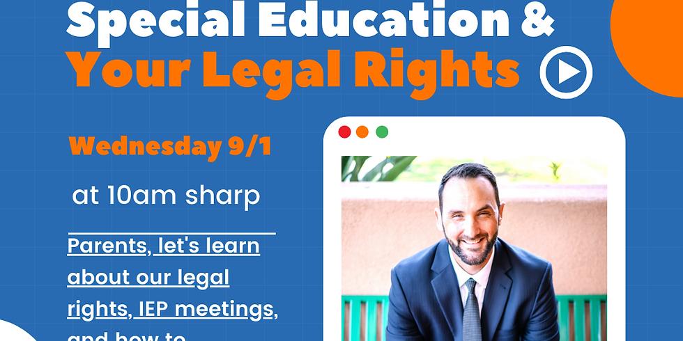 Legal Help w/ Special Education Atty Matthew Storey