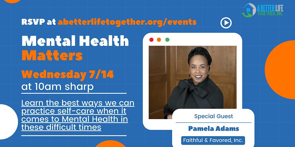 Wednesday Webinar Series: Mental Health Matters