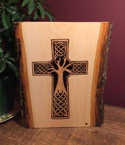 Celtic Tree in Cross