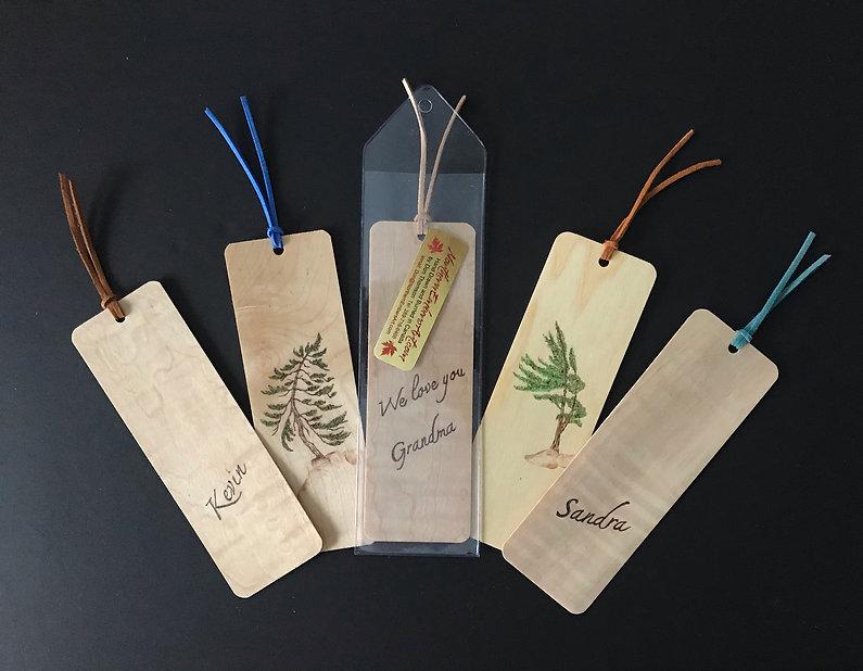 Custom Wood bookbarks- EmbersBookmarks