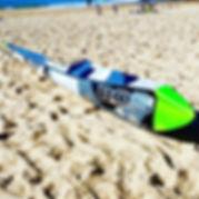 BOS surf ski