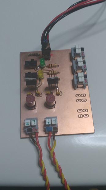 Finished Battery Board