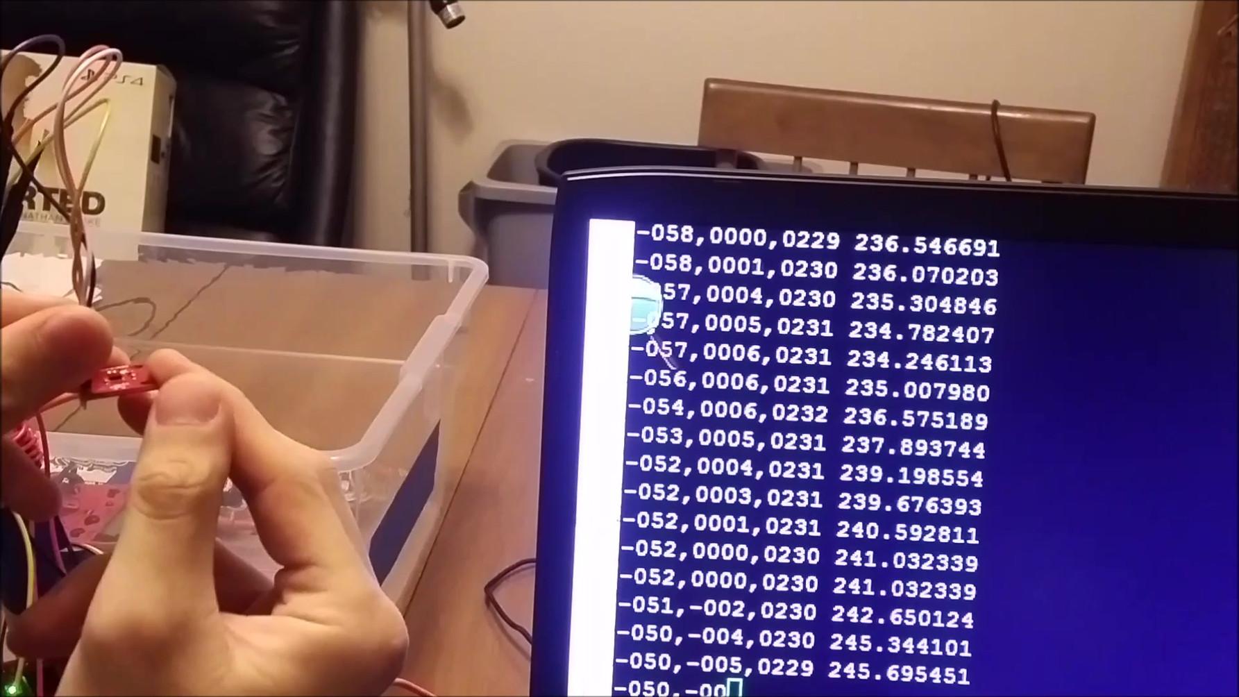 Magnetometer Test Data