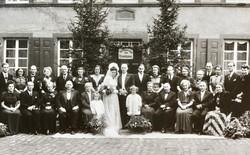 Mühlenhochzeit Anno 1947