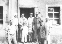 Mühlenmitarbeiter der 50er-Jahre