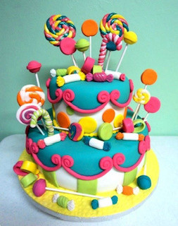 Candy Land Baby Shower Theme