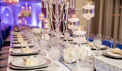 Receptions at Crystal Ballroom Saint Augustine Banquet Hall