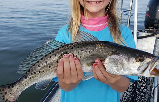Speckled Trout Fishing Charter