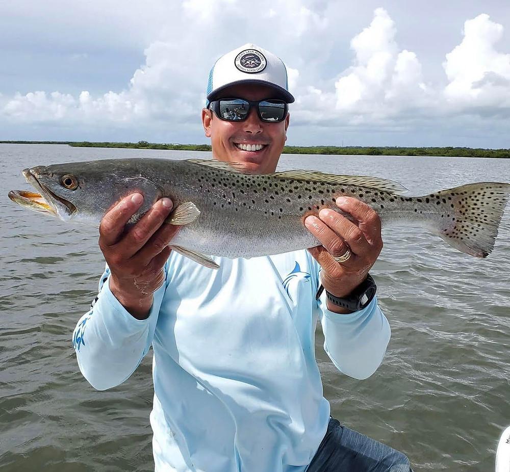 Trout Fishing on New Smyrna Beach Fishing Charters