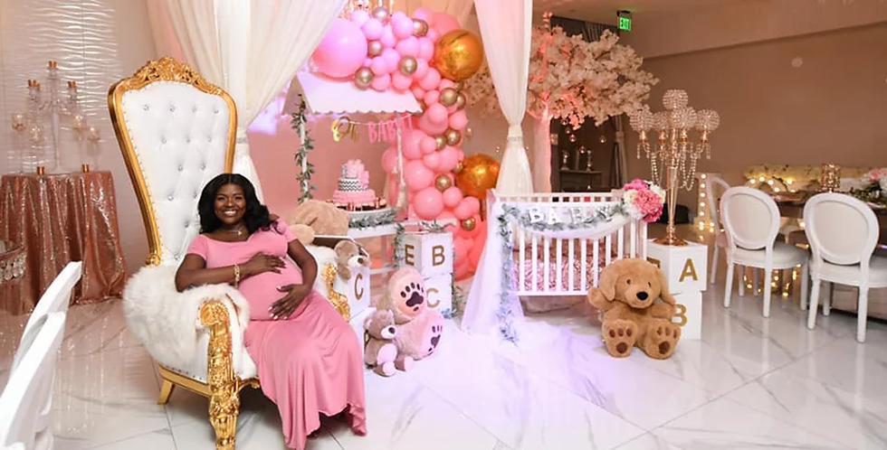 Crystal Ballroom Baby Shower Venue