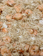 Seafood Rice with Lump Crab and Shrimp