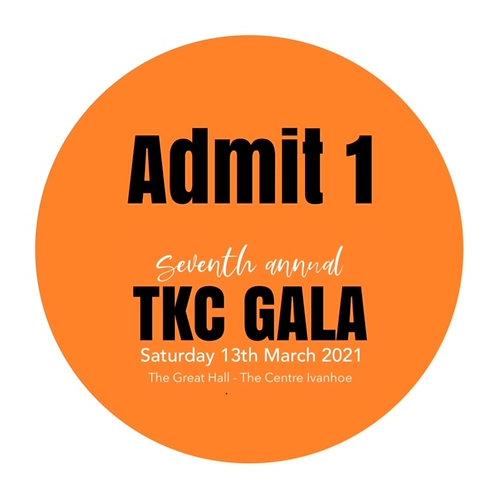 2021 TKC GALA ADMIT ONE
