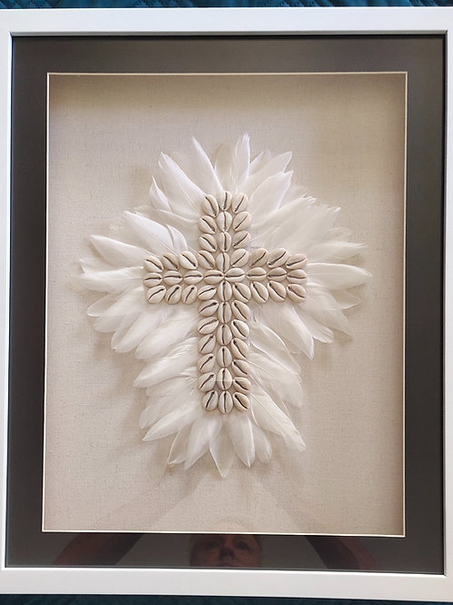 Art Feather Cross