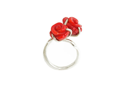 Twin Rose Ring