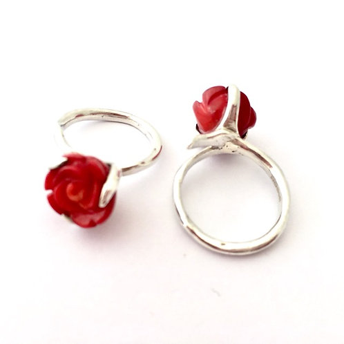 Single Rose Ring