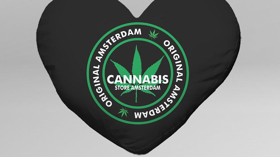 Cuscino Cuore Cannabis - CC001CB
